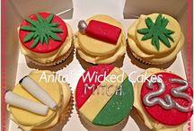 weed cupcakes
