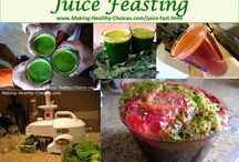 Juicing, Cleansing, Detox