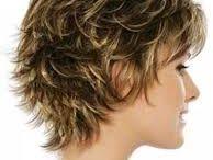 Hair cut wavy bob