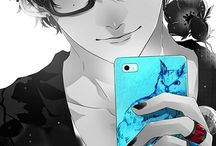 Megane guys / Anime boys with glasses