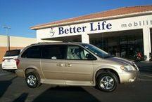 Handicap Minivans / Wheelchair accessible minivans for sale