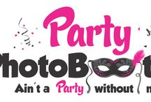 Logo Party PhotoBooth / Logo design http://www.lightpixel.ro http://www.lpwebdesign.ro