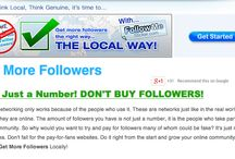 Get More Followers / How do you Get More Followers the right way, locally? Learn more here.
