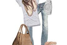 Casual wardrobe: spring/summer
