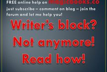 Writer's block? Not anymore! Read how! / I give FREE online help on how to not get writer's block anymore! The big secret that all the big authors, artists, musicians used. www.magicbooks.co