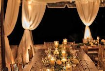 Wedding decoration outdoor