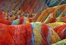 színes természet