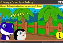 Tido&Friends : Kenapa Balon Bisa Terbang / Eduminikomik Tido&Friends no 69