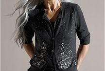 Long Grey Hair