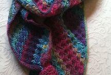 crochet red heart unforgettable scarf