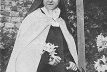 Heiligen / Heilige Theresia van Lisieux.