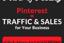 Power of Pinning / Everyone is talking about Pinterest. Why? Plain and Simple...It's fun and it's addicting! But did you know that it can also send MASSIVE amounts of traffic to your sites, improve your SEO, increase your customer base and take your business to a whole new level? That's right, Pinterest = Traffic & Sales