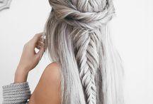 hair / mostly braids i bet