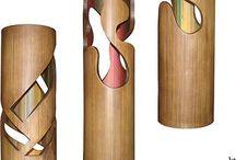 arte com bambu