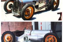 Old racecars
