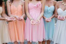 Pastel Weddings / www.katherinecourtney.com