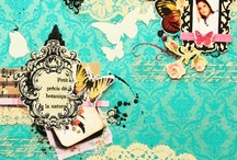 Scrapbook: Papercrafts / Lots and lots of papercrafting inspiration. Scrapbook pages, art journaling pages, mini-albums, and more. If you can make it with paper, it belongs here.  / by rukristin: Feminist Scrapbooker