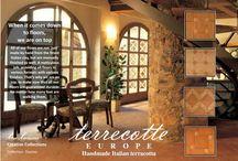 True Terracotta / Handmade terracotta wall and floor tiling & pottery