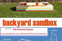 My Backyard / by Kendra Hansen Bjoralt