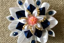 fiori con nastri