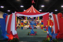 Circus VBS / Decorating ideas for Camp Hillside / by Donna Perkins