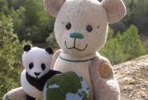 'Miss WWF Climate Bear & Panda' / Miss WWF Climate Bear & Panda mascot designed for WWF
