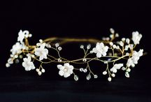 Tiara / Handmade garlands for hair