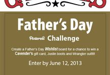 Cavender's Father's Day Wishlist / Making a wish for Father's Day / by Lori Griffith