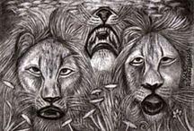 Oroszlán, Tigris, Gepárd