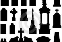 cemeteries and tombstones-my fascination!!! / by Jane DeWitt
