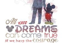 Disney quotes / words
