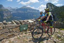 #Ordesa en #bicicleta / Rutas y paisajes del Parque Natural de Ordesa recorridos con nuestra #bici