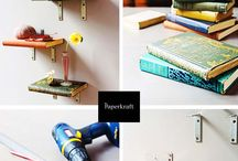 DIY  / DIY projects using books.