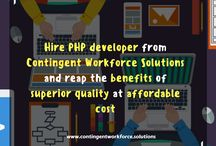 Development Staffing / Contingent Workforce Solutions is a standard reputed IT development staffing organization that has been providing Staffing Solutions to top IT companies and shortening their search in finding apt IT talent.
