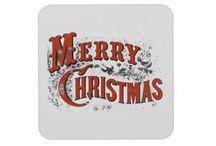 Christmas - Typography / Vintage typography, traditional, nostalgic