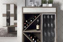 barová skříňka