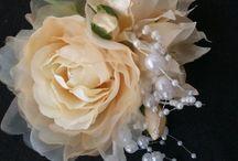結婚式 コサージュ