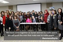 #womenofsyria / Leading up to the UN Conference on Syria on 22 Jan 2014, UN Women convened 50 Syrian women activists to amplify their voices and to support peace efforts. #womenofsyria