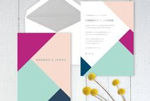 Colour Pop Invitations