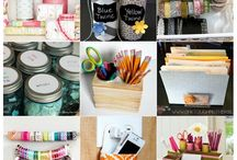 Easy organization! / Love these ideas!