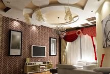 gypsum ceiling design for living room with lighting 2015 / gypsum ceiling design for living room with lighting 2015