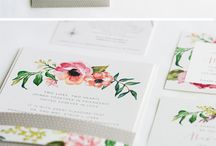 Wedding Stationary / //Save the Dates// //Invitations// //Custom Stamps//