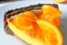 Tarta con naranja / Tarta de naranja