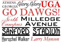 Go Dawgs! / by Sarah West Phillips