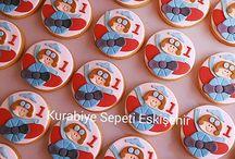 Şeker Hamuru Kurabiyeler 1-2-3-4-5 yaş / Butik kurabiye
