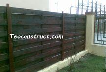 Modele garduri din lemn / In acesta categorie va prezentam diverse poze cu modele de garduri din lemn pentru a va imbunatatii designul casei si gradinii dumneavoastra.