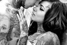 Tattooed couples❤️