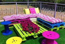 muebles de pallets / diferentes diseños de muebles e ideas