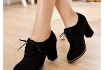 Zapatos con tacos