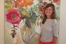 ARTISTS I ADMIRE / Fresh Perspectives. Techniques. Color Palettes.  / by Bonnie Porter